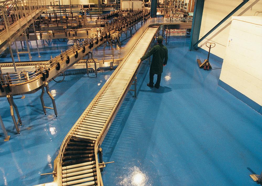 pavimento industriale continuo sicuro igienico resistente